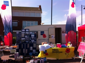 Sheringham & District Royal British Legion Caravan 2014