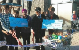 Tesco donation to Sheringham Branch funds 2013